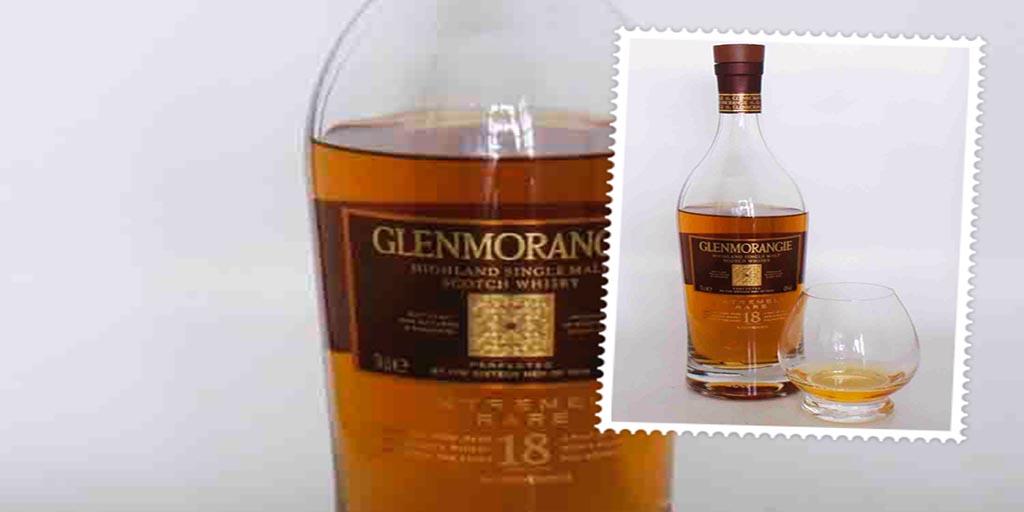 Glenmorangie Extremely Rare 18 yo whisky glenmorangie 18