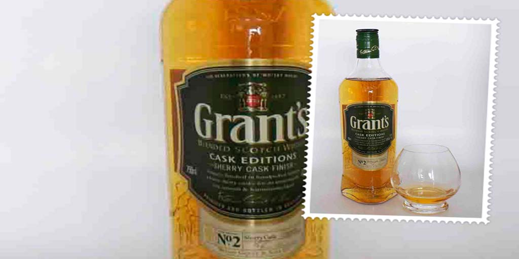Grant's Sherry Cask Edition blended whisky Grants