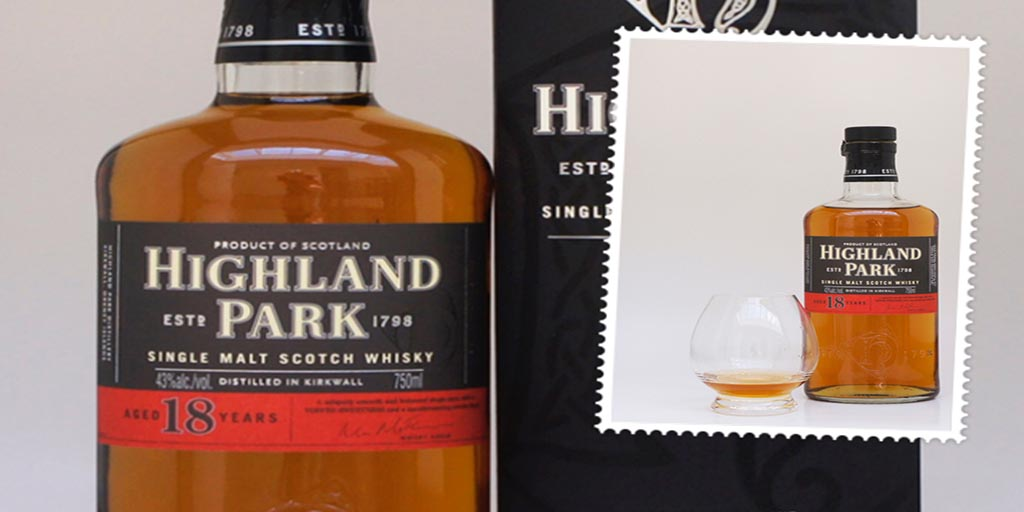 Highland Park 18 yo single malt whisky