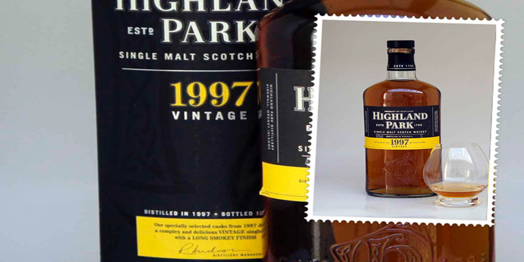 Highland Park 1997 Vintage single malt whisky