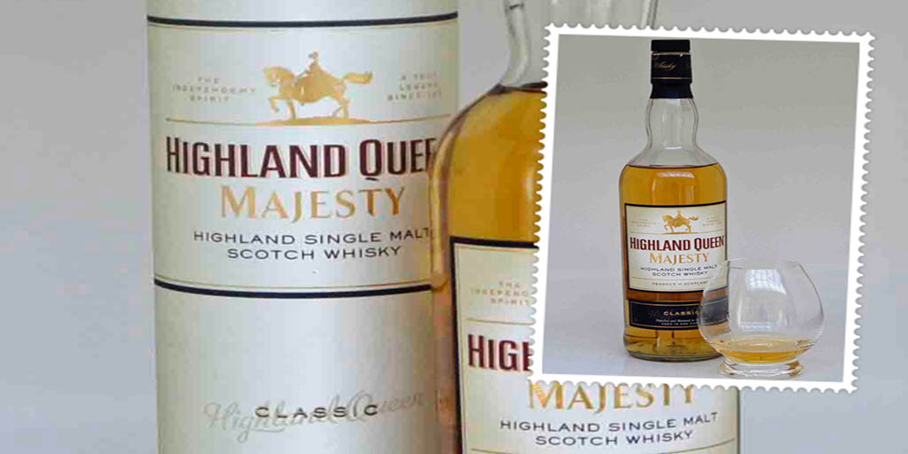 Highland Queen Majesty single malt whisky