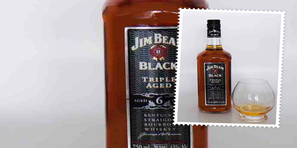Jim Beam Black Bourbon whiskey