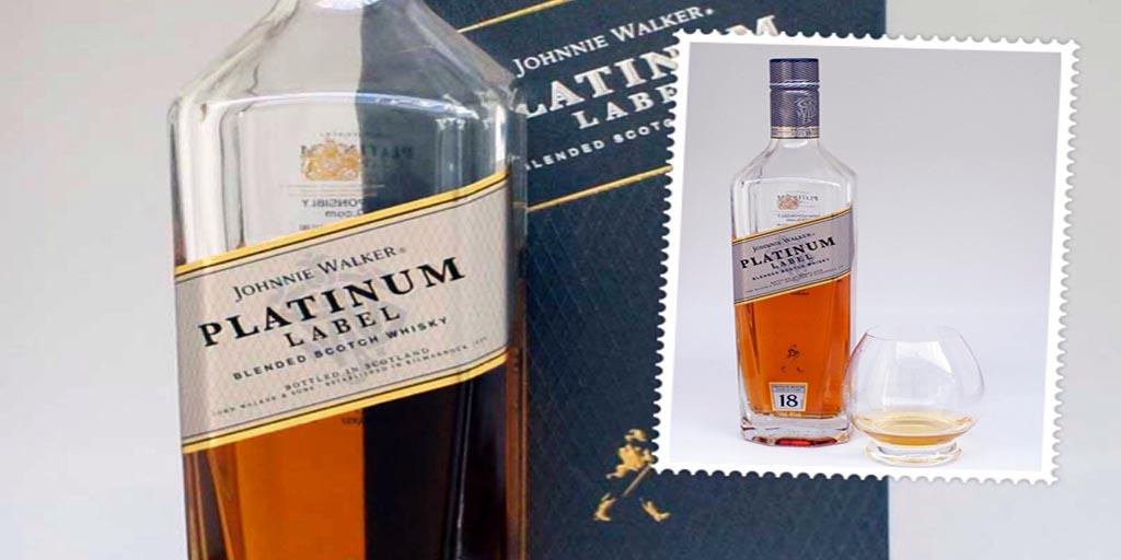 Johnnie Walker Platinum Label blended whisky
