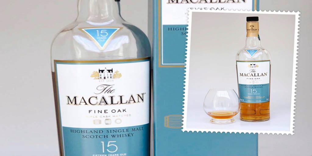 Macallan 15 yo Fine Oak Single Malt Whisky