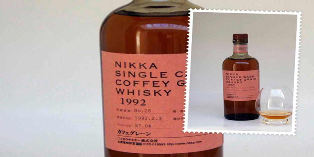 Nikka Single Cask Coffey Grain 1992