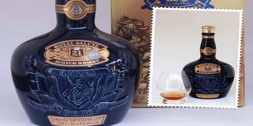 Royal Salute 21 yo blended whisky