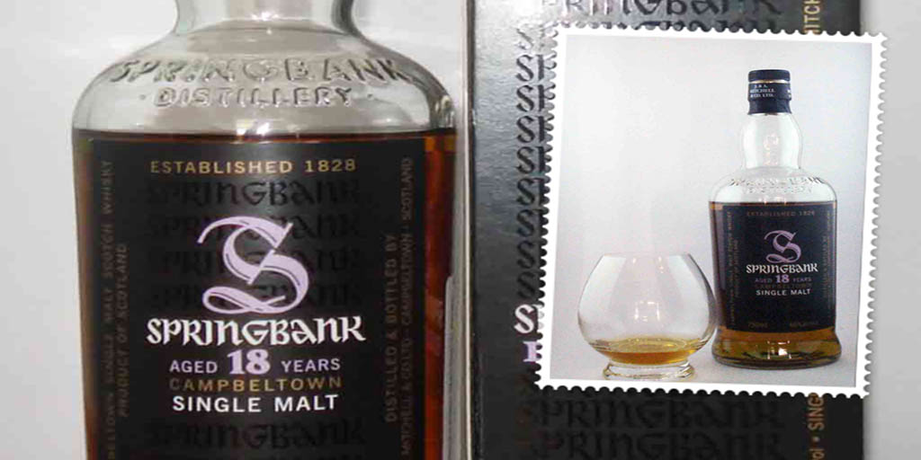 Springbank 18 yo single malt whisky