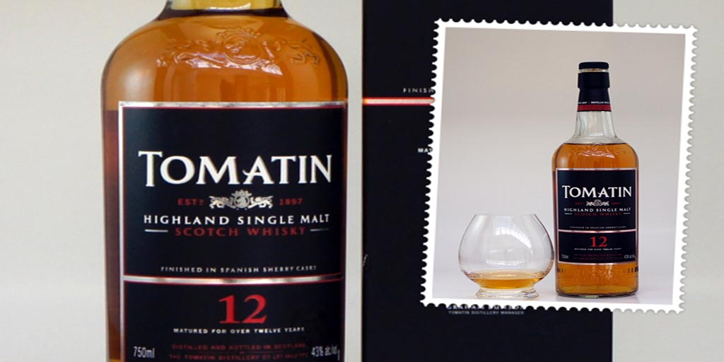 Tomatin 12 yo single malt whisky