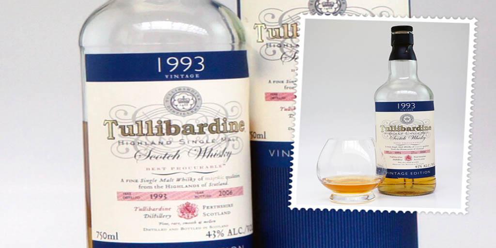 Tullibardine 1993 Vintage Edition single malt whisky