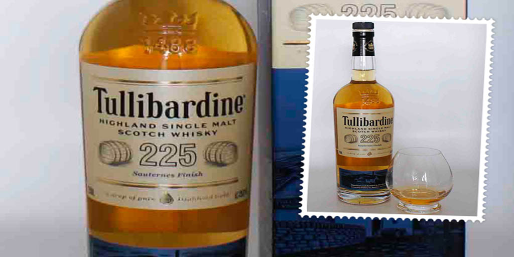 Tullibardine 225 Sauternes cask single malt whisky