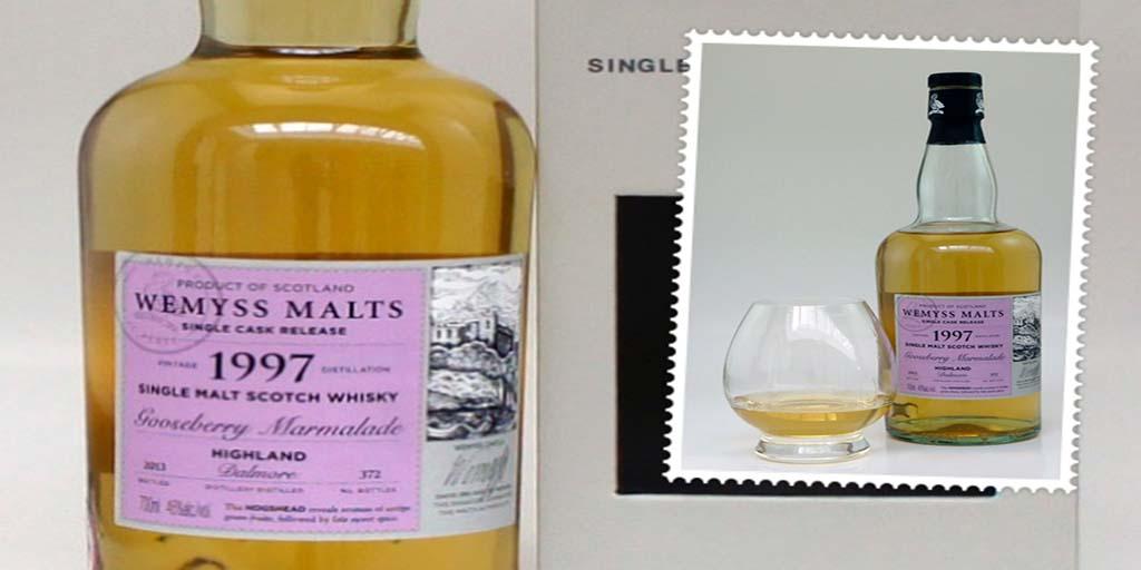 Wemyss Gooseberry Marmalade single cask whisky