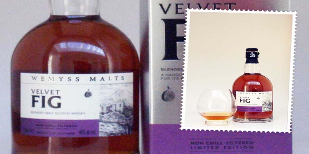 Wemyss Velvet Fig blended whisky