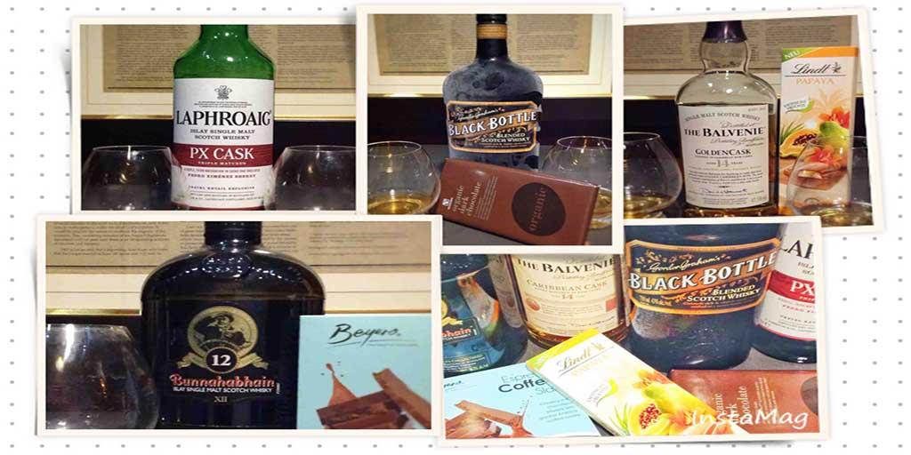 Whisky Chocolate pairing NYE 2016