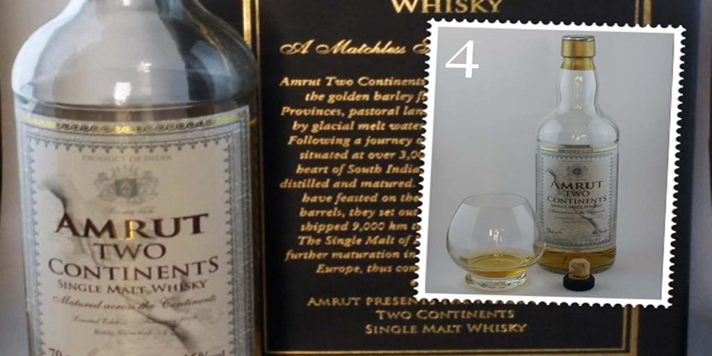 Amrut Two Continents single malt whisky