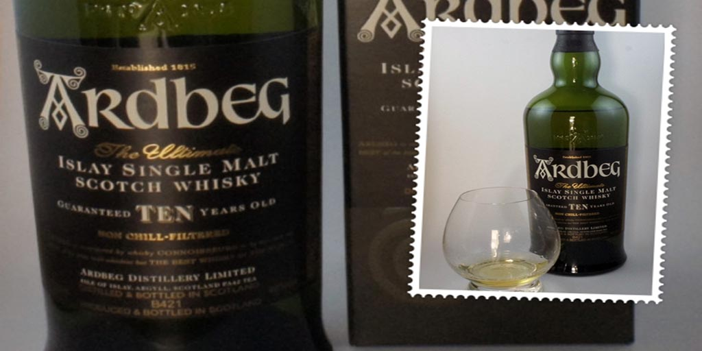 Ardbeg 10 yo Single malt whisky