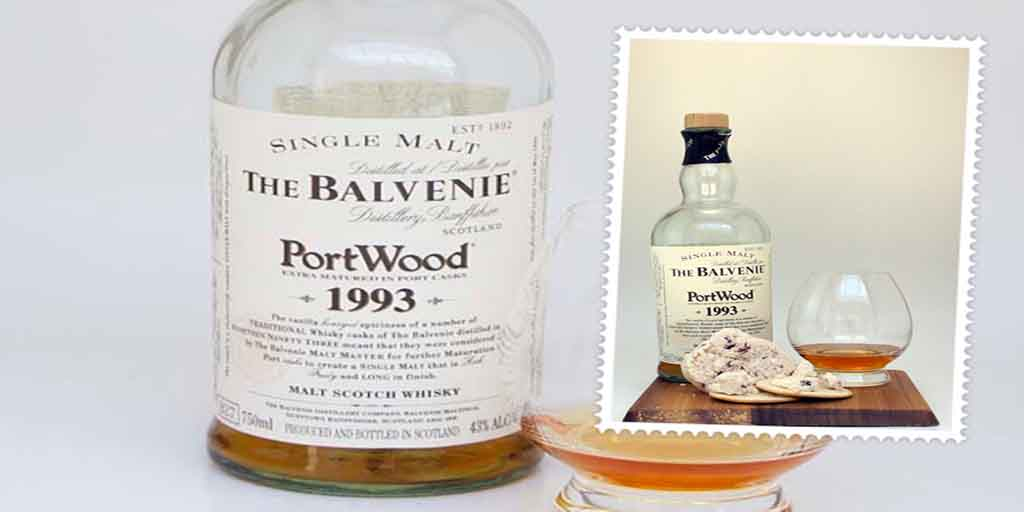 Balvenie Portwood and White Rock cheese pairing