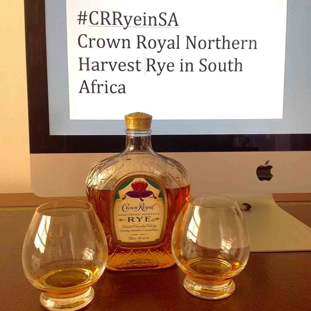 Crown Royal Northern Harvest Rye canadian whisky TWitter tasting