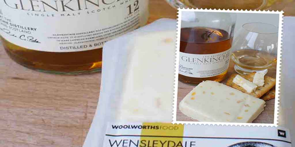 Glenkinchie 12 yo and Wensleydale cheese pairing
