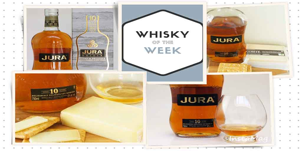 Jura 10 whisky and Comte Cheese pairing