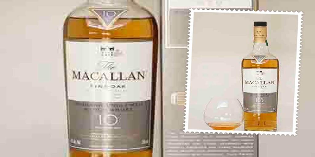 Macallan 10 yo Fine Oak single malt whisky