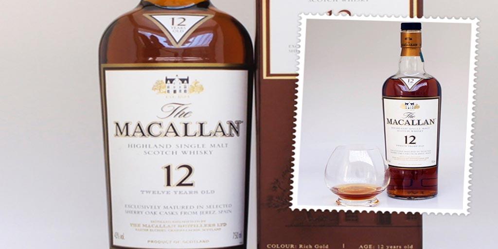 Macallan 12 yo single malt whisky