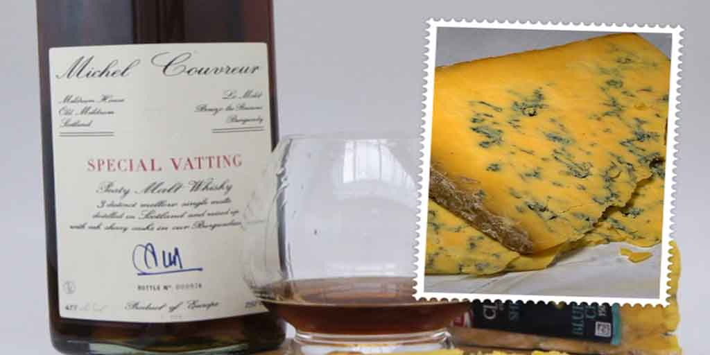 Michel Couvreur and Clawson Shropshire cheese pairing