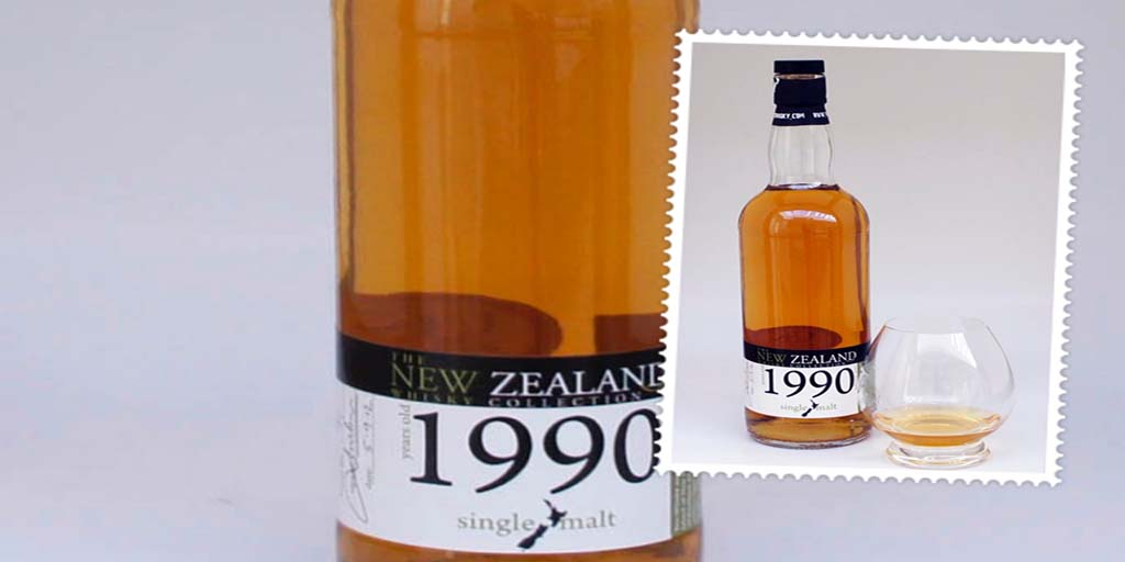 New Zealand Whisky 1990 Single Malt whisky