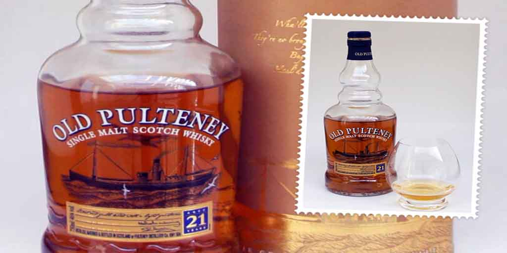 Old Pulteney 21 yo single malt whisky
