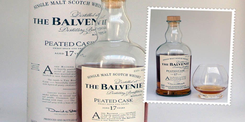 The Balvenie Peated Cask 17 yo Single malt whisky