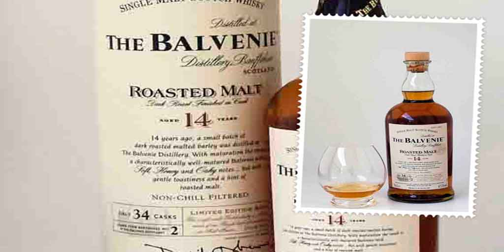 The Balvenie Roasted Malt 14 yo single malt whisky
