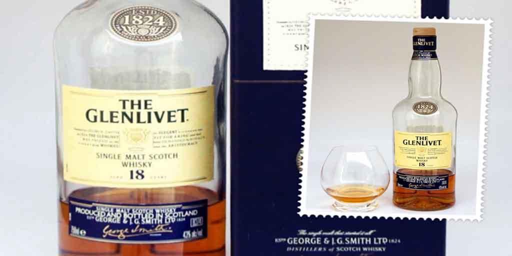 The Glenlivet 18 yo single malt whisky