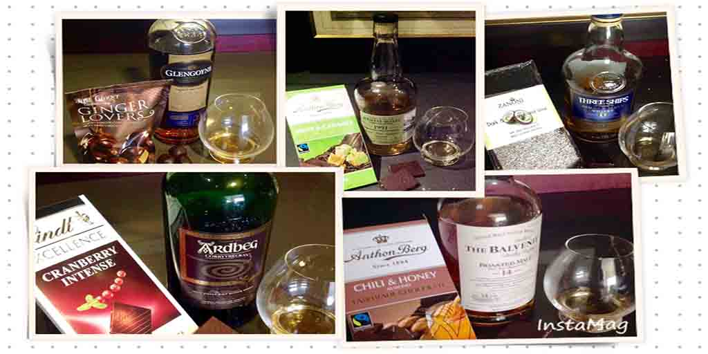 Whisky chocolate NYE 2015