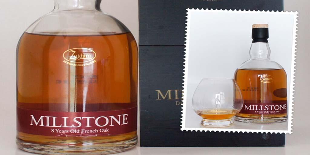 Zuidam Millstone 8 yo whisky Dutch whisky