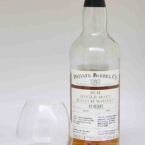 Checkers Private Barrel Co. Barrel No 41 Single Malt whisky