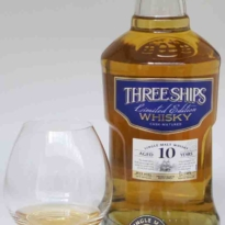 Three Ships 10 yo single malt whisky