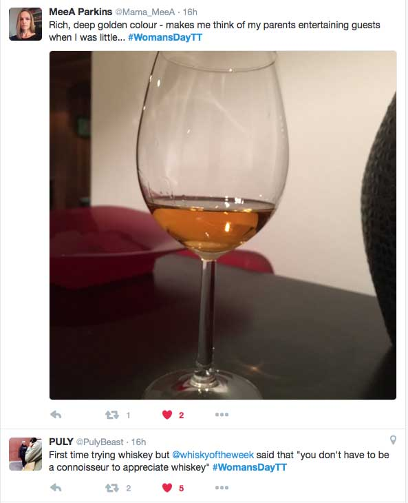 Woman's Day Twitter Tasting