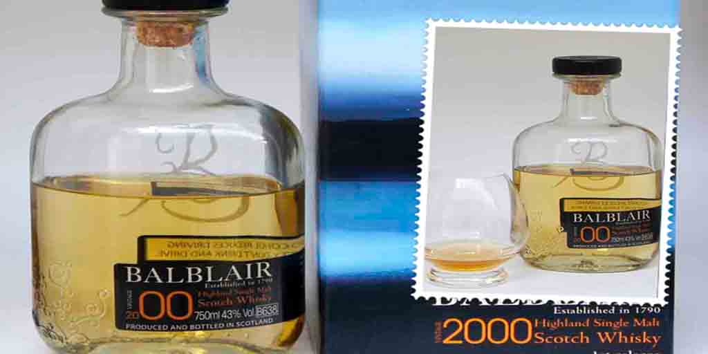 Balblair 2000 vintage single malt whisky