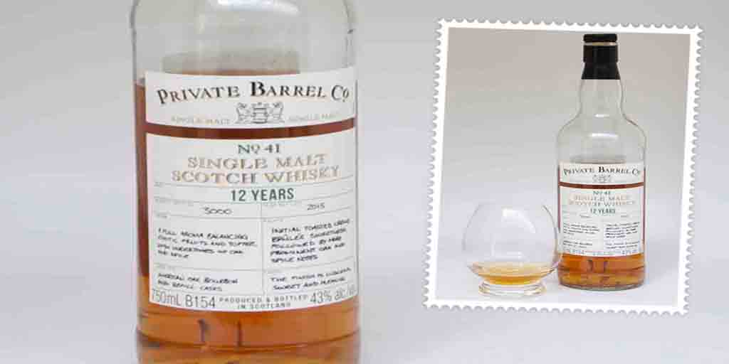 Checkers Private Barrel Co No 41 Single Malt whisky