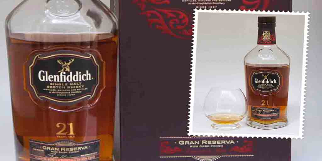 Glenfiddich Gran Reserva single malt whisky