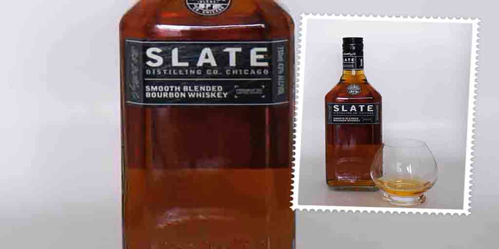 Slate blended bourbon Distilling Co Chicago