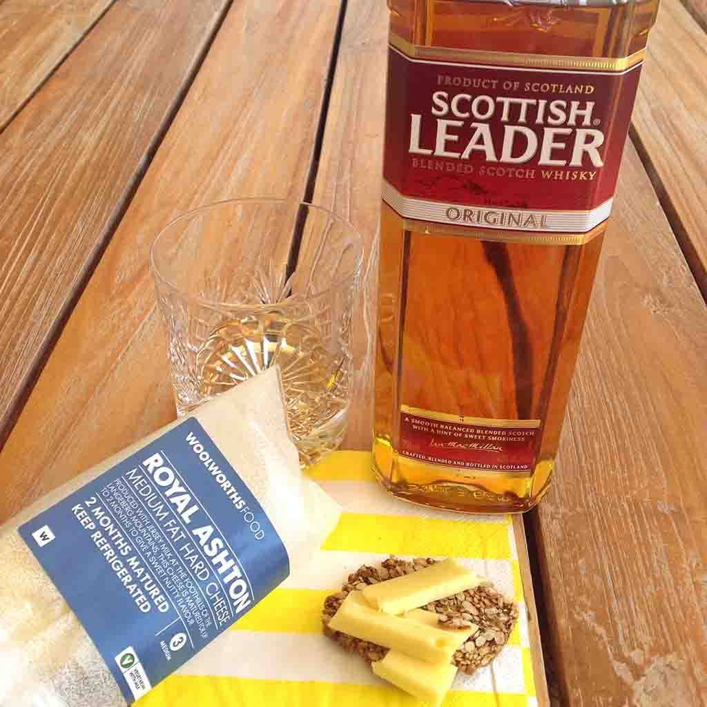 Whisky and Royal Ashton Cheese pairing Scottish Leader Original whisky
