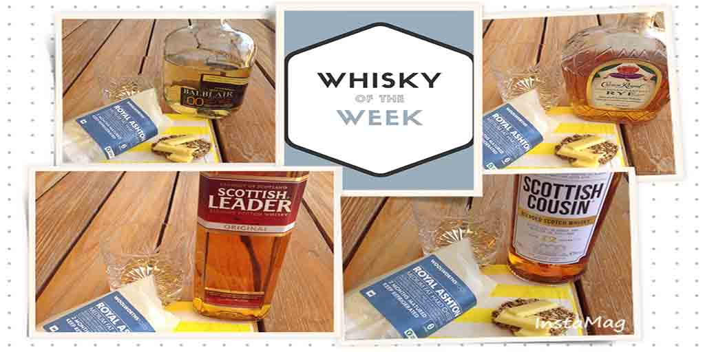 Whisky and Royal Ashton Cheese pairing