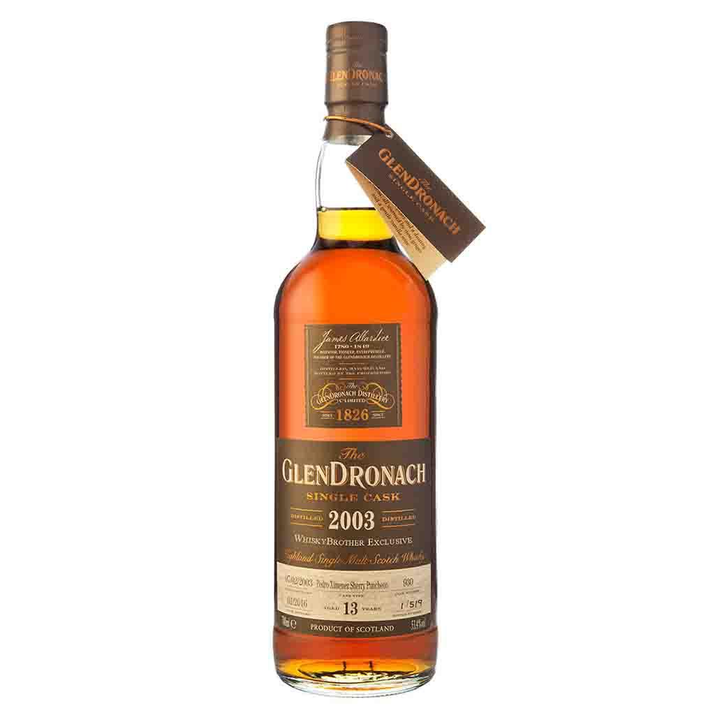 Glendronach 13 yo Whisky Brother Single Cask release