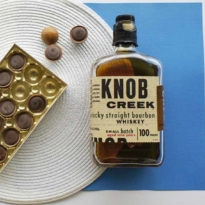 Whisky chocolate pairing 2017 edition Knob Creek Bourbon and Toffifee