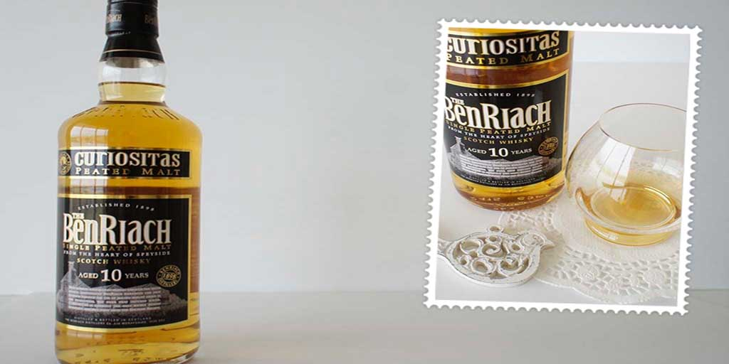 Benriach curiositas 10 yo whisky header