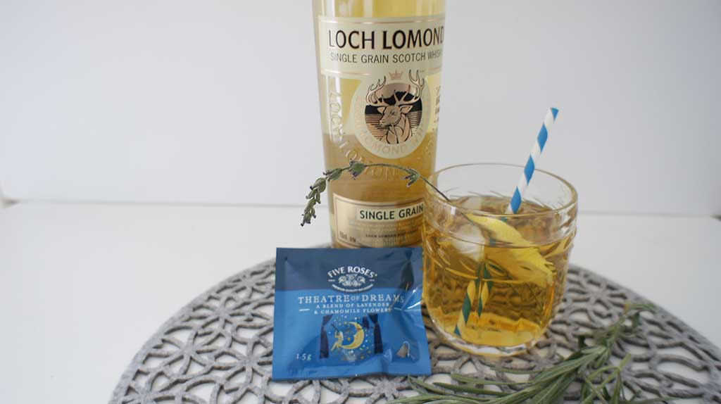 Chamomile Cocktail with Loch Lomond Single Grain