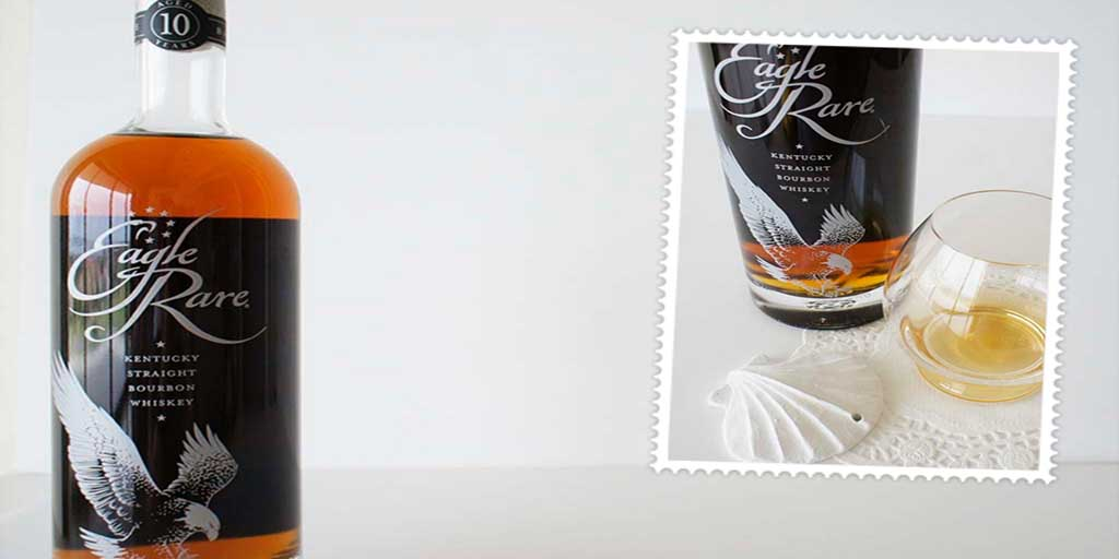 Eagle Rare bourbon whiskey header