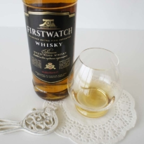 First Watch blended whisky with glass
