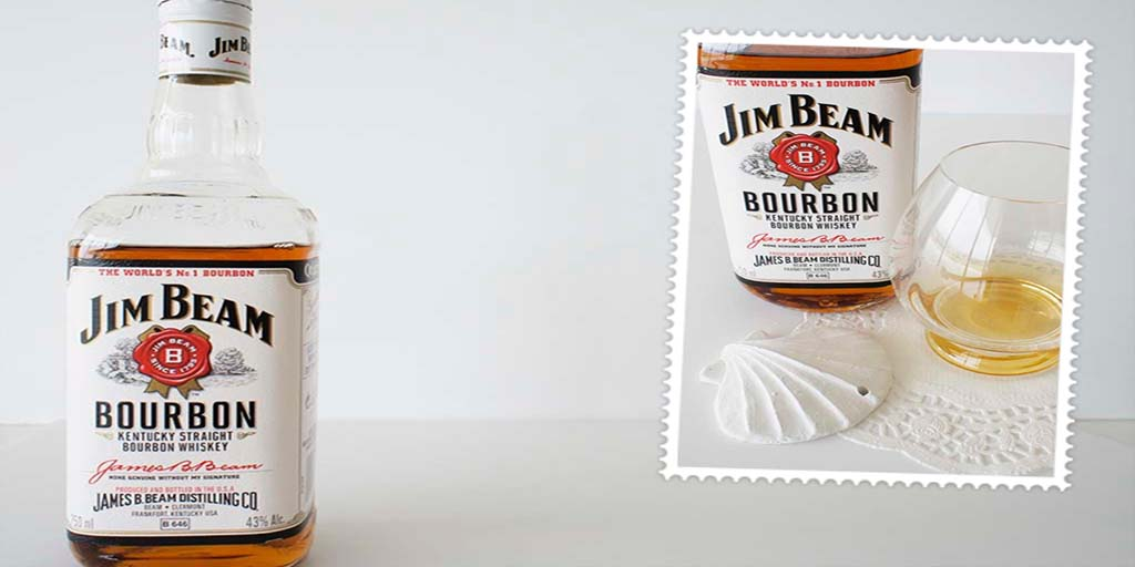 Jim Beam White Bourbon header