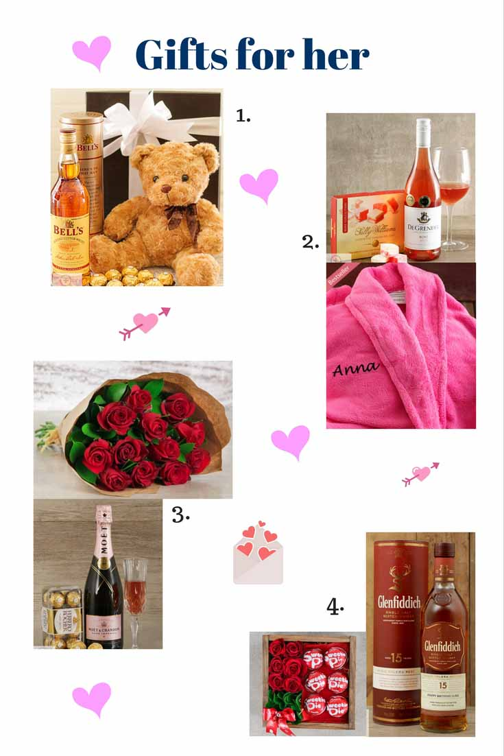 Netflorist valentine 39 s day gift ideas whisky of the week for Gifts for her valentines day
